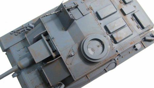 RC Panzer Amewi Metall Tiger 1 wüstentarn 004 3