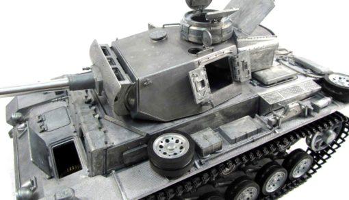 RC Panzer Amewi Metall Tiger 1 wüstentarn 008
