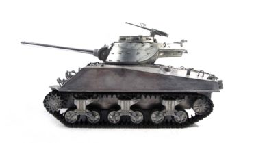 RC Panzer Amewi Metall m36 jackson unlackiert 002