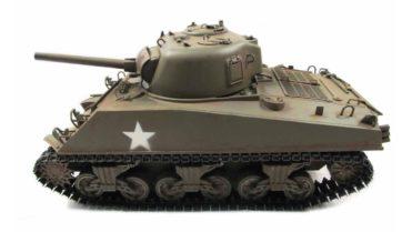 RC Panzer Amewi Metall m4a3 sherman green 002