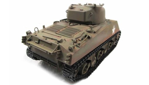 RC Panzer Amewi Metall m4a3 sherman green 003