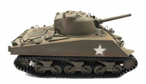 RC Panzer Amewi Metall m4a3 sherman green 004
