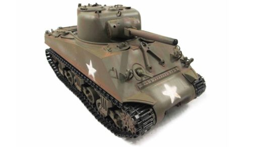 RC Panzer Amewi Metall m4a3 sherman green 005