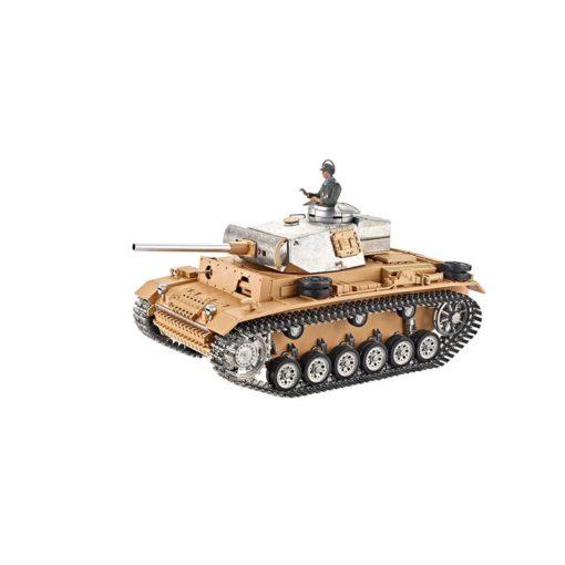 RC Panzer 3 torro pro unlackiert ir