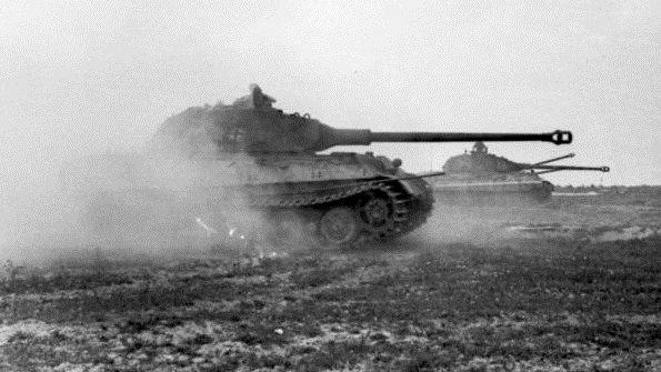 Tiger 2 königstiger panzer depot 2
