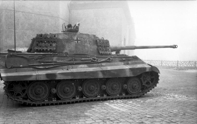Tiger 2 königstiger panzer depot