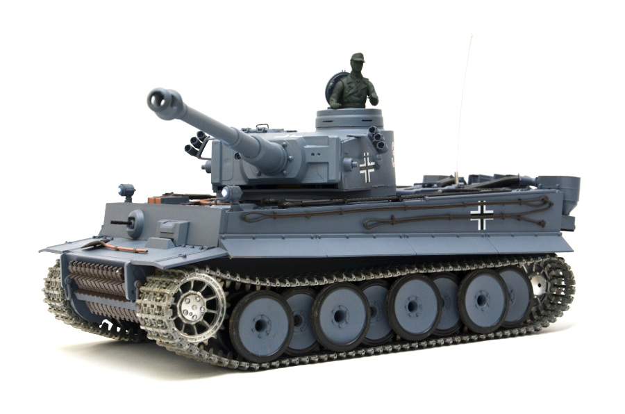 Metallkettensatz Tiger I Heng Long Antriebsräder *Neu* Torro,1:16 Schwarz