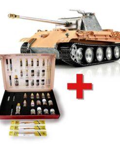 1/16 RC Panther G unlackiert IR + Solution Box