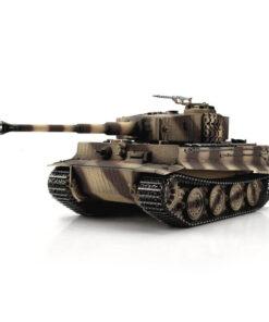 RC Panzer Tiger I Späte Ausf. Wüstentarn IR-Schussfunktion